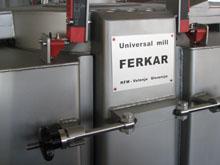 Detail of Stainless steel Ferkar Mill